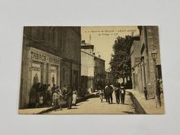 13 - SAINT ANDRÉ - VILLAGE - TABACS BAR CAFÉ - MARSEILLE - RARE Animé Carte Postale Ancienne CPA - Otros