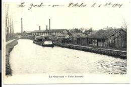 La GUERCHE Sur L'AUBOIS - Péniche - Chargement De L' Usine SAUVARD Tuilerie Briqueterie (1904) > VENTE DIRECTE X - La Guerche Sur L'Aubois