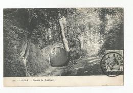 Uccle Chemin Du Crabbegat Carte Postale Ancienne - Uccle - Ukkel