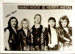 #927  Hard Rock Stars JUDAS PRIEST Music Artists Band - Image Card 1980 - Andere