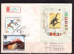 World Cup-1962, Hungary, R-letter, Football, Soccer, Fussball,calcio, - 1962 – Chili