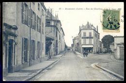 Cpa Du 42 Roanne Rue De Charlieu     AVR0-28 - Roanne