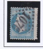 GC 1070 COLIGNY ( Dept 1 ) S / N° 29 Variété D' Impression Décalée - 1849-1876: Periodo Classico