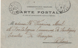 13400  TRÉSOR Et POSTES *13* - Oblitéré 18/10/14 - 1. Weltkrieg 1914-1918