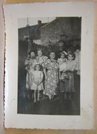 Photo. 153. Famille Gilbert Faucon à Pâturages En 1949 - Lieux