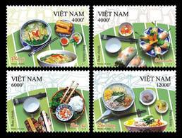 Vietnam Viet Nam MNH Per Stamps Issued On 10 Oct 2020 : Vietnamese Cuisine / Food (Ms1134) - Vietnam