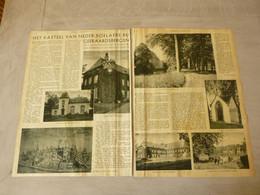 """Origineel Knipsel ( 2768 ) Uit Tijdschrift """" De Stad """" 1935 : Neder - Boelare  Nederboelare ( Geraardsbergen ) - Documentos Antiguos"""
