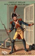 CHROMO CHOCOLAT POULAIN  GENDARMERIE IMPERIALE 1806 - Poulain