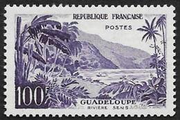 FRANCE  1959  -  Y&T  1194 -   Guadeloupe  Rivière Sens -  NEUF** - Cote 38e - Unused Stamps