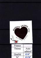 2011 - Autocollant - Autodhésif - YT N°511 ** Coeur De Maurizio Galante - Luchtpost