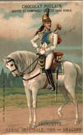 CHROMO CHOCOLAT POULAIN  GARDE IMPERIALE 1806 - Poulain