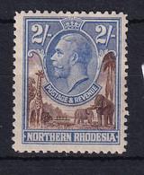 Northern Rhodesia: 1925/29   KGV     SG11     2/-    MH - Rhodésie Du Nord (...-1963)