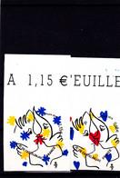 2015 - Autocollant - Autodhésif - YT N°1082 Et 1083 ** Coeur De Castelbajac - Luchtpost
