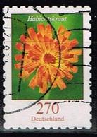 Bund 2019,Michel# 3490 O Blumen: Habichtskraut, Selbstklebend - [7] Federal Republic