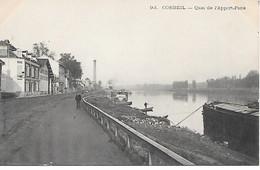 Les Bords De La Seine   91   Corbeil Essonnes     Quai De L'apport-paris - Corbeil Essonnes