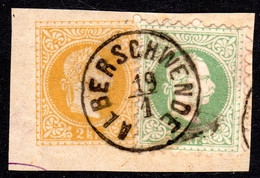 Österreich, 3 Kr. Auf 2 Kr. GAA-Briefstück M. Vorarlberg-K1 ALBERSCHWENDE - Briefe U. Dokumente