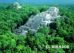 Guatemala El Mirador Aerial View New Postcard - Guatemala
