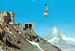 Zermatt -Luftseibahn -Stockhorn 1965 - VS Valais