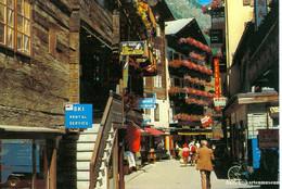 Zermatt - Dorfstrasse + Ca. 1970 - VS Valais