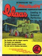 Claas Matador  -  Combine Harvester -  Publicité D'epoque  -  CPM - Tractores