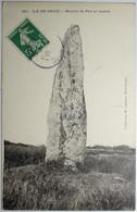 ILE DE GROIX Menhir De Pen Er Huern - Groix