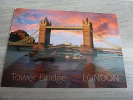 LONDON - TOWER BRIDGE AT SUNSET - EDITIONS LAMBERT - - Tower Of London