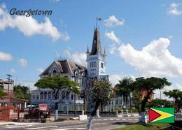 Guyana Georgetown Town Hall New Postcard - Otros