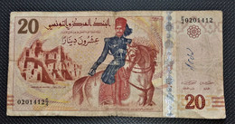 DINARS TUNISIEN VINGT DINARS - Tunisia