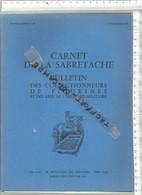 PR /  CARNET DE LA SABRETACHE 1 TRIMESTRE 1983 @@ COLECTIONNEURS FIGURINES - France