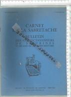 PR /  CARNET DE LA SABRETACHE 4 Em TRIMESTRE 1984 @@ COLECTIONNEURS FIGURINES - France