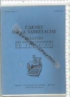PR /  CARNET DE LA SABRETACHE 3 Em TRIMESTRE 1983 @@ COLECTIONNEURS FIGURINES - France