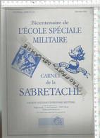 PR /  CARNET DE LA SABRETACHE @@ ECOLE SPECIALE MILITAIRE DECEMBRE 2002 @@ 235 PAGES !!! - France