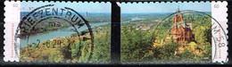 Bund 2020,Michel# 3517 - 3518 O  Deutschlands Schönste Panoramen, Selbstklebend - [7] Federal Republic