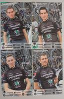 Cyclisme :   SCO Dijon 2008 , élite Amateurs : Ederlé, Léonard,  Grenier, Locatelli - Cycling