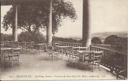 Deauville (14) - La Plage Fleurie - Terrasse Du New-Golf - Deauville