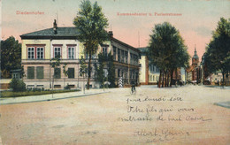 57) THIONVILLE - DIEDENHOFEN : Kommandantur U. Pariserstrasse (1911) - Thionville