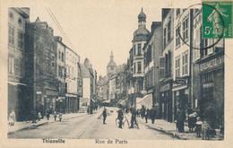 57) THIONVILLE - DIEDENHOFEN : Rue De Paris (1919) - Thionville