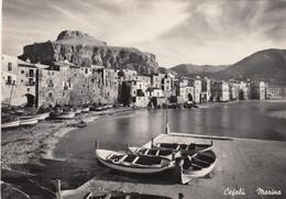 CEFALÚ-PALERMO-MARINA-CARTOLINA VERA FOTOGRAFIA- VIAGGIATA IL 21-6-1957 - Palermo