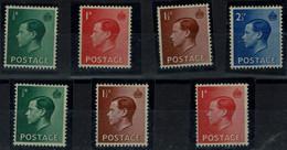 GREAT BRITAIN 1936 KING EDWARD VIII MI No 193-6X+Z MLH VF!! - Ungebraucht