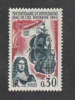 ANNÉE 1965 - N° 1461   - Tricentenaire Du Peuplement De L'Ile Bourbon      -  Neuf  Sans Charnière - Unused Stamps