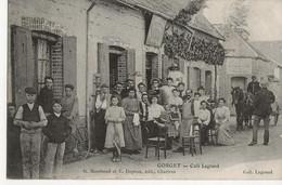 GORGET  -  Café Legrand  (très Belle Animation) - Autres Communes