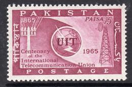 Pakistan 1965 ITU Centenary, MNH, SG 221 (E) - Pakistan