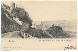 STAVELOT : Le Vieux Château Et Le Chemin De La Corniche - 1909 - Stavelot