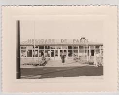 Photo Originale Aviation Paris Issy (92) L'Heliport  En 1957 - Luftfahrt