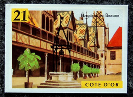 Image VOLUMÉTRIX - Géographie N°47 - Départements - 21 CÔTE-D'OR Vente De Vin De BOURGOGNE Aux HOSPICES DE BEAUNE - Trade Cards