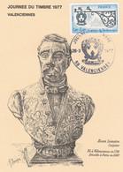 1927 FDC JOURNEE Du TIMBRE VALENCIENNES 26.3.77 - 1970-1979