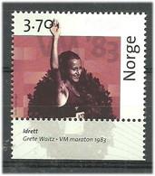 Norway 1997 Norwegian Post 350 Years, World Title For Grete Waitz In The Marathon (1983)  Mi 1254 MNH(**) - Neufs