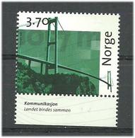 Norway 1997 Norwegian Post 350 Years, Communication Askøy Bridge 1992  Mi 1255 MNH(**) - Neufs