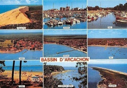 France Bassin D'Arcachon, Taussat, Dune Du Pyla, Andernos, Cassy, Arcs Panorama - Altri