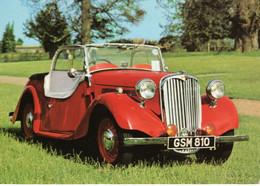Singer SM Roadster  (1938)  -  Carte Postale - PKW